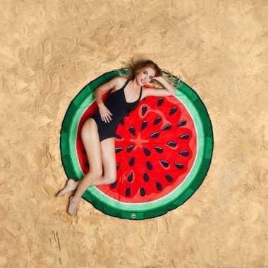 Watermeloen roundie badlaken 150 cm
