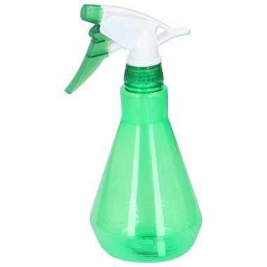 Waterspray sproeifles groen 500 ml