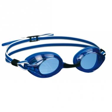 Wedstrijd zwembril voor volwassenen blauw