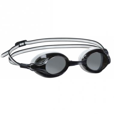 Wedstrijd zwembril voor volwassenen zwart