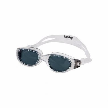 Wedstrijd zwembrillen met zwarte lenzen voor volwassenen