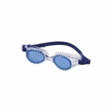Wedstrijd zwembrillen voor kinderen blauw