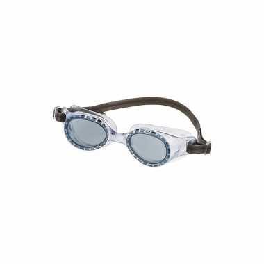 Wedstrijd zwembrillen voor kinderen donkergroen