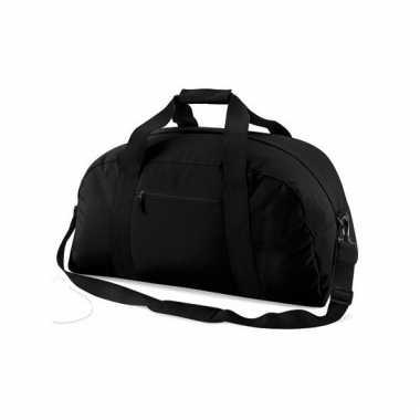 Weekend tas zwart 48 liter