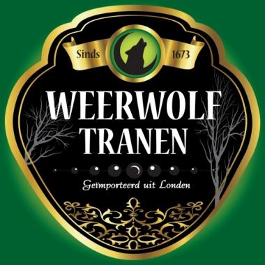 Weerwolf tranen flessen etiket