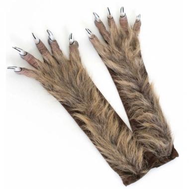 Weerwolf verkleed handschoenen
