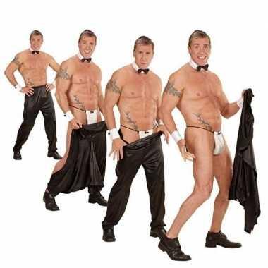 Wegtrek broek voor strippers