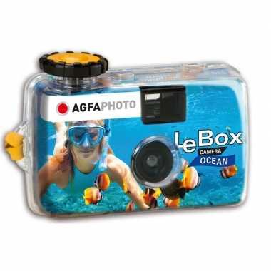 Wegwerp onderwatercamera/fototoestel met flits voor 27 kleuren fotos