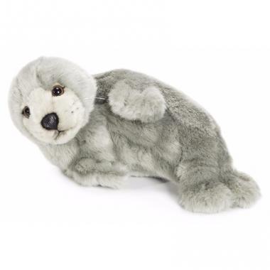 Wereld natuur fonds grijze zeehond 24 cm