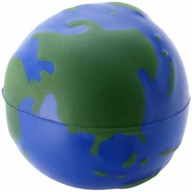Wereldbol earth stressballetjes