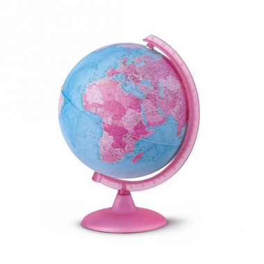 Wereldbol roze voor kinderen