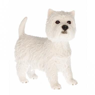 West highland terrier decoratie beeldje 13 cm