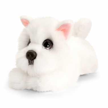 Westie honden knuffeldier 25 cm