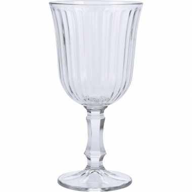 Wijn glazen 4x stuks voor witte of rode wijn