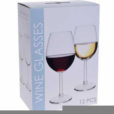 Wijnglazen pakket 12 stuks