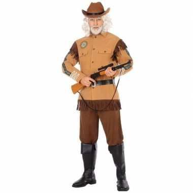 Wilde westen cowboy kostuum buffalo bill voor heren