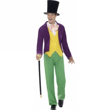 Willy wonka verkleedkleding voor heren