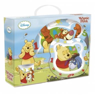 Winnie de pooh kinder servies 3 delig