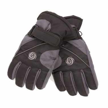 Winter handschoenen voor jongens zwart/navy