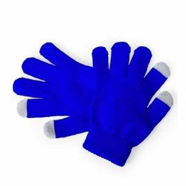 Winter handschoenen voor kinderen blauw