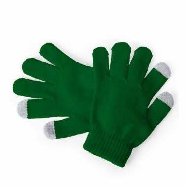 Winter handschoenen voor kinderen groen