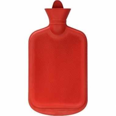Winter kruik rood 2 liter
