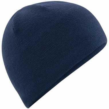 Wintermuts navy thermo fleece voor heren