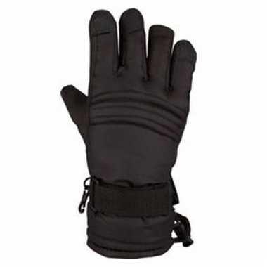 Wintersport handschoenen voor kinderen zwart