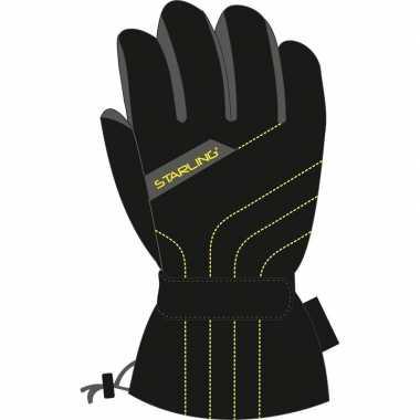 Wintersport starling olan handschoenen voor volwassenen zwart