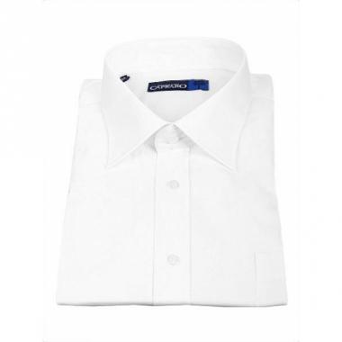 Wit business overhemd voor heren