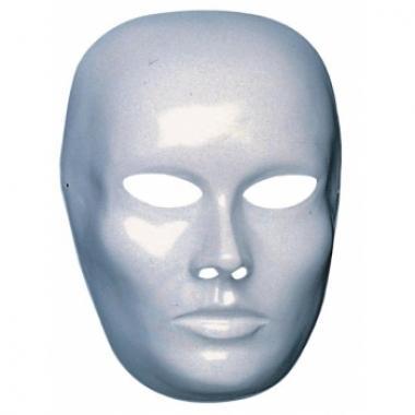 Wit dames gezicht masker