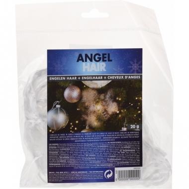 Wit engelenhaar versiering 20 gram