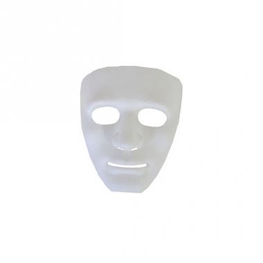 Wit gezichtsmasker spook
