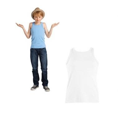 Wit kinder hemdje