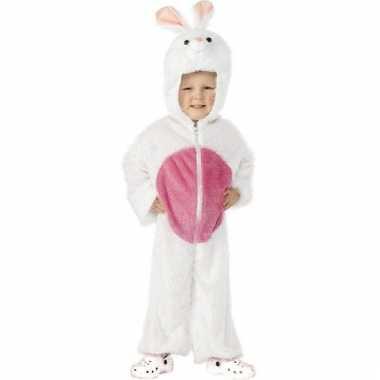 Wit konijnenpak kinderen