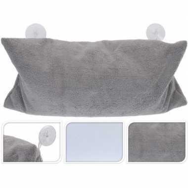 Wit kussen voor in bad met zuignappen