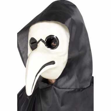 Wit venetiaans masker voor volwassenen