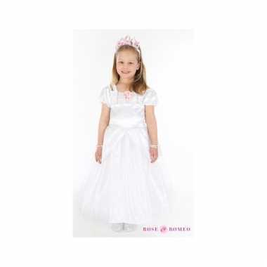 Witte communie jurk voor meisjes