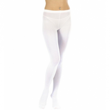 Witte dames panty maillot