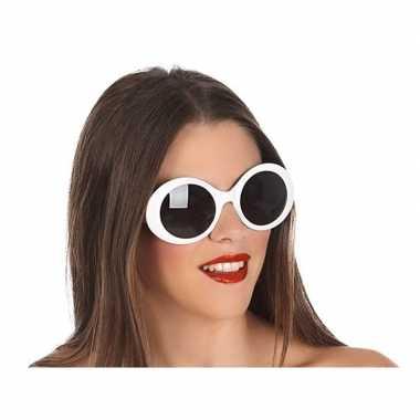 Witte dames verkleedbril