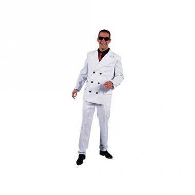 Witte gangsterpak voor heren
