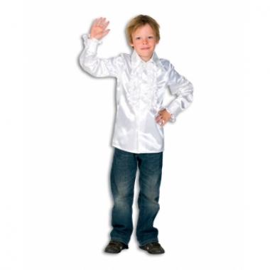 Witte hippie blouse voor jongens