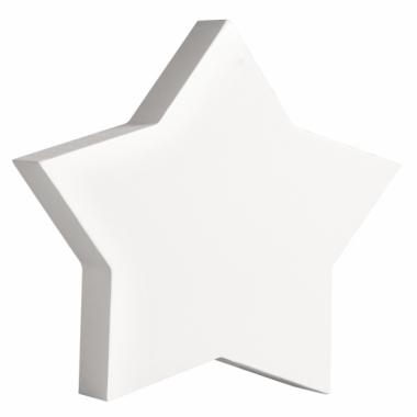 Witte houten ster 11 cm
