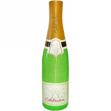 Xxl opblaasbare champagnefles