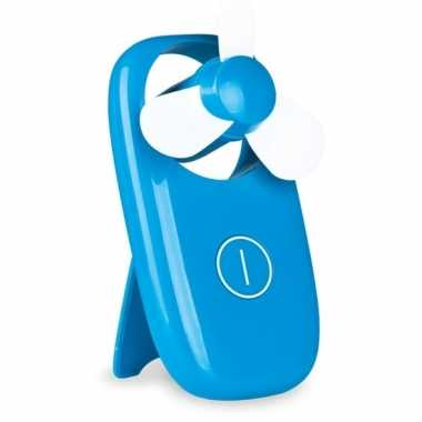 Zak ventilator blauw