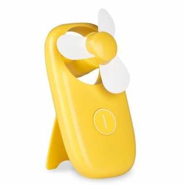 Zak ventilator geel