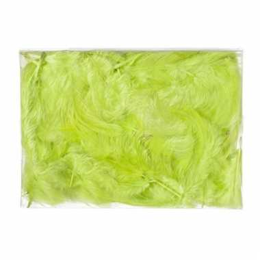 Zakje donsveertjes groen 5 gram