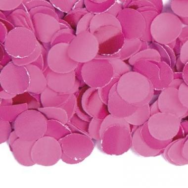 Zakje met 100 gram fuchsia confetti