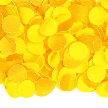 Zakje met 100 gram gele confetti