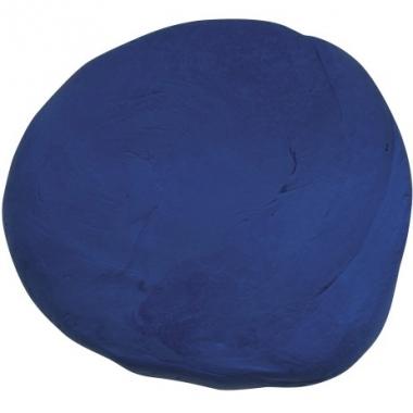 Zakje met blauwe boetseerklei